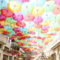 【ポルトガル】空一面に広がるカラフルなアゲダの傘祭りに行ってみた♡