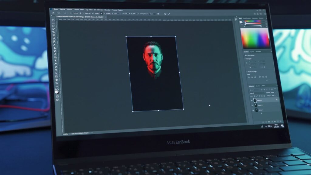 Photoshopの画面